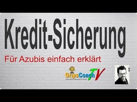 Kreditsicherung einfach erklärt - Prüfungswissen für Azubis ★ GripsCoachTV