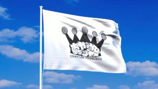 おやゆびプリンセスの旗が風になびく動画。 アニメーションGIF、透過PNGのデータも以下で公開しています。 http://flag-image.net/fd11683.php.