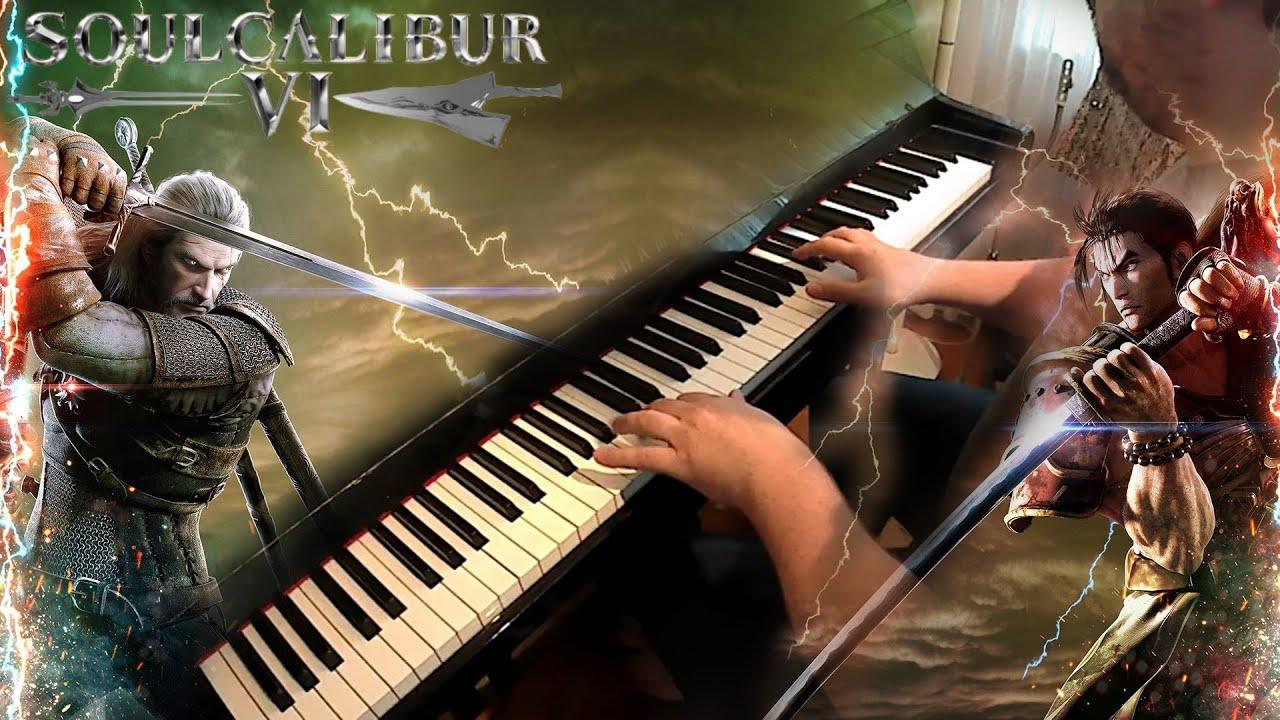soul calibur sheet music