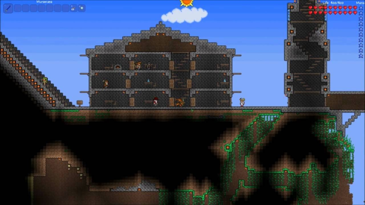 Willietannerbuilds terraria design lessons episode 4 for Terraria house designs