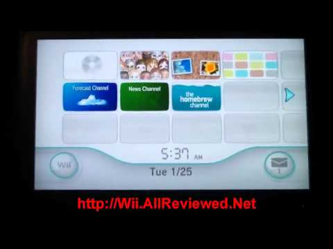 How To Download And Copy Wii Games & Play Homebrew, No Mod Chip