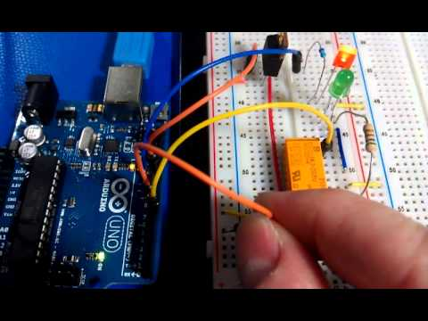 open circuit alarm - arduino, latching relay, led's, reset ... relay for car alarm led wiring