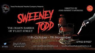 Sweeney Todd at the Attic Theatre - Stratford-Upon-Avon 2018