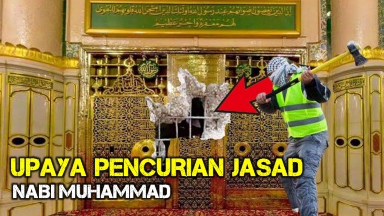 SANGAT NEKAT..!! inilah upaya pencurian Jasad Nabi Muhammad yang pernah terjadi