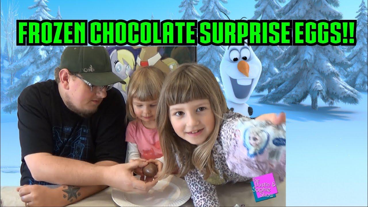Kinder Surprise Frozen Chocolate eggs!!!! - YouTube