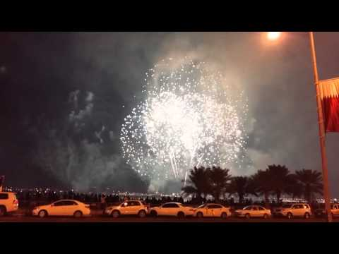 Qatar National Day - Fire Works, Doha 2015