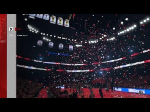 NBA 2K18: Chicago Bulls vs Golden State Warriors (Game 6 NBA Finals)