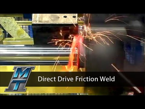 Rotary Friction Direct Drive Welder - Model 300T