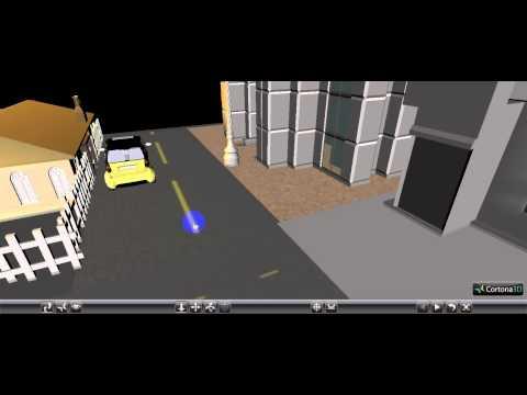 VRML Scene Example