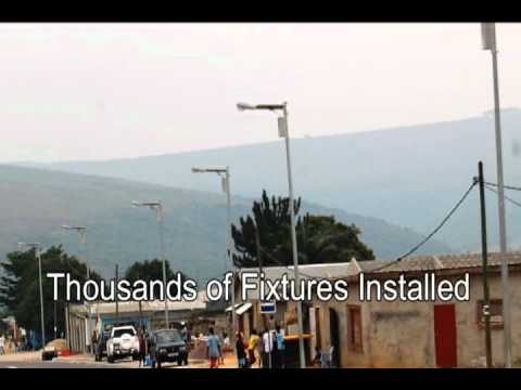 Solar Roadway Lights in Africa improve life for all