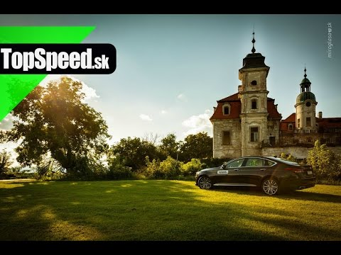 Test Hyundai Genesis 3.8 HTRAC TopSpeed.sk