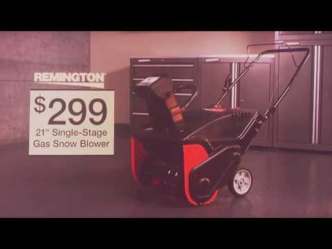 Menards Snow Blowers >> Menards Gas Snow Blower Promo Youtube