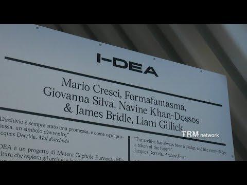 """Matera 2019. I-DEA  """"Le Due Culture. Artefatt..."""