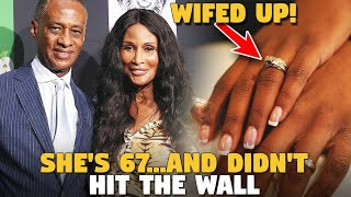 She's 67 Years Old...Didn't Hit The Wall..And Married A Millionaire