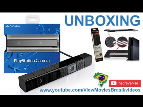 Unboxing Playstation Camera + Suporte vertical PS4 [PT-BR]