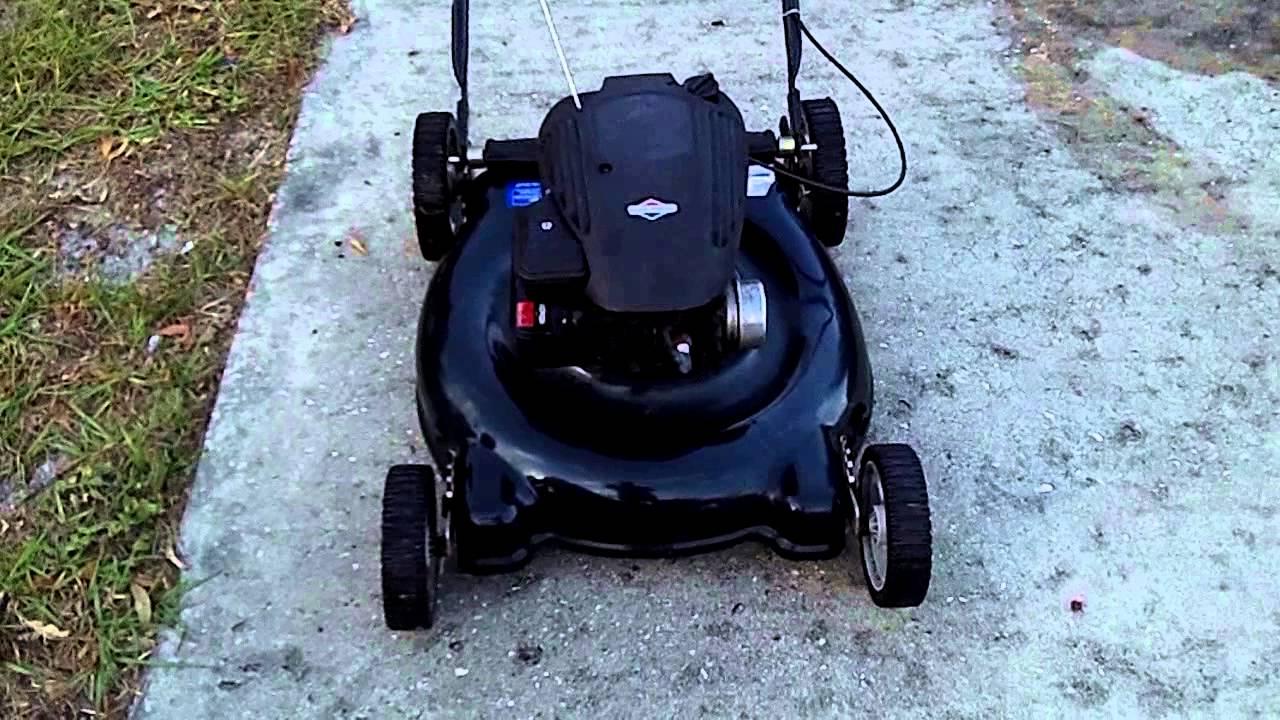 Bolens 21` Mower Running 11A-414A065