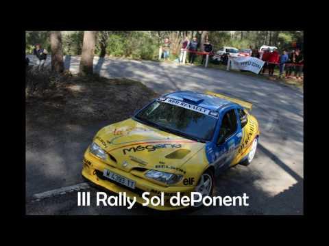 III Rally Sol de Ponent 2017