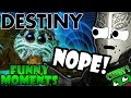 Destiny Funny Moments Ep.37 THAT DANG SPIDER TANK!  PLAYING WITH FANS!