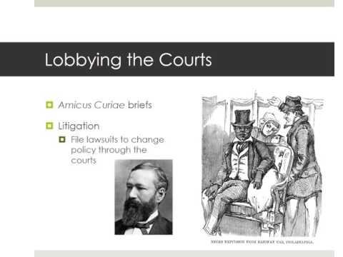 3.19 Interest Groups: Lobbying AP Gov