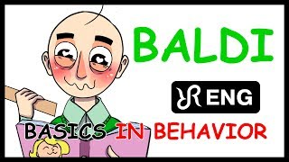BALDI's Basics animatic, Blues remix [Basics in Behavior] ENG song #cover