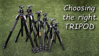 6-way shootout - how to choose the right tripod?