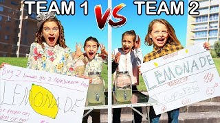 LEMONADE STORE THAT MAKES THE MOST MONEY WINS Challenge w/ The Norris Nuts Video