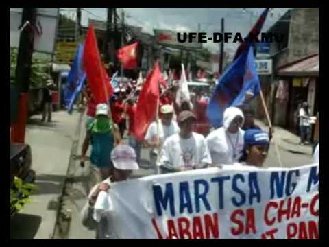 SOUTHERN TAGALOG LAKBAYAN2009! (DAY 2) NESTLE WORKERS FROM CABUYAO FACTORY JOINS LAKBAYAN 2009