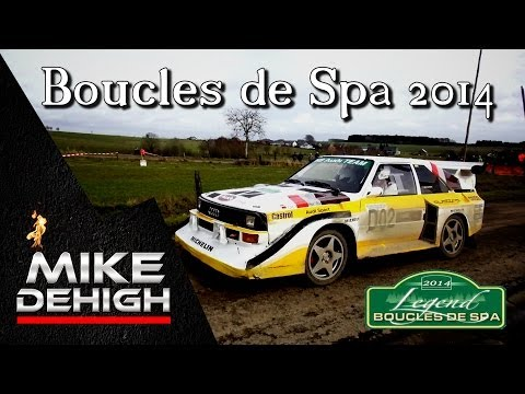 Legend Boucles de Spa Rallye Best of 2014 with HD Classics Mistakes Flatout Group B Pure Sound