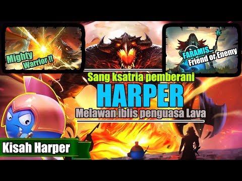 KISAH NYATA HERO HARPER VS PASUKAN THAMUZ !! TEMAN ATAU LAWAN FARAMIS ??