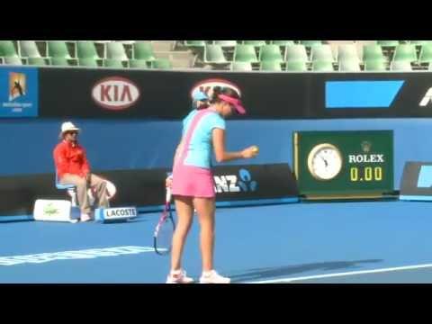 Australian Open Qualifying 2012: Robson v Oudin