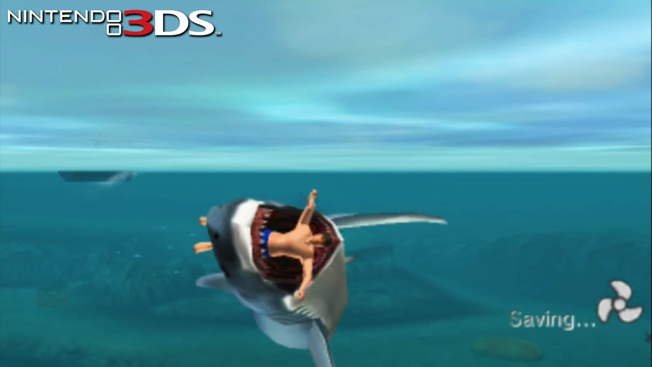JAWS: Ultimate Predator - Gameplay Nintendo 3DS Capture Card - YouTube