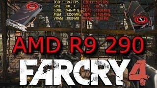 Overclock vs Far Cry 4 - AMD R9 290