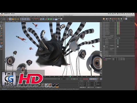 "CGI Animated Breakdown HD: ""Pause Fest 2014 ID - Airspace"" - by Rich Nosworthy"