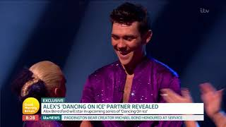 Alex's Dancing on Ice Partner is Revealed! | Good Morning Britain