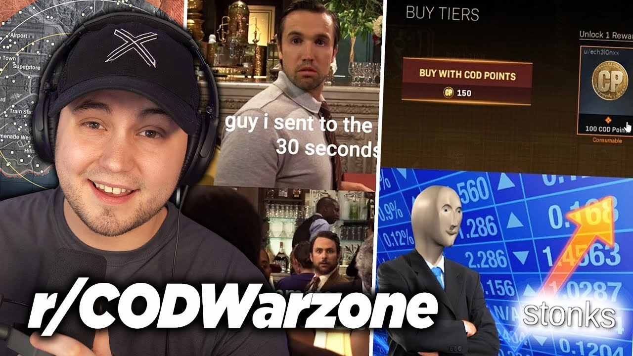Reacting To Cod Warzone Memes Clips R Codwarzone Youtube