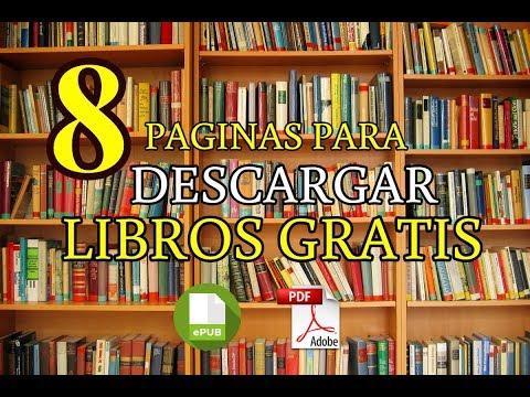 ✅ 8 Mejores Páginas Para Descargar Libros Gratis [EPUB - PDF]📗📘