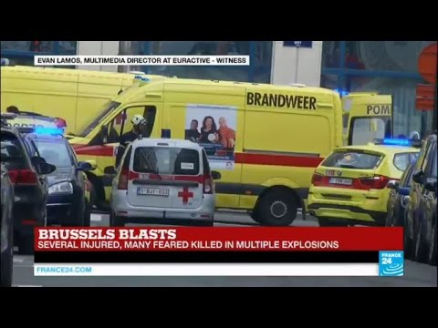 Brussels blasts: Witness talks of evacuation at Malbeek metro station