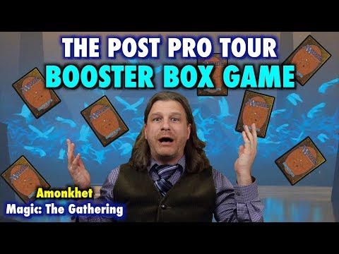 Let's Play the Amonkhet Post Pro Tour Booster Box Game for Magic: The Gathering!