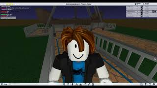 PLAYING WITH MY FRIEND ARIELI ROBLOX THEME PARK TYCOON 2