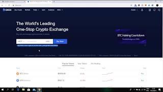How to buy $100 of Ethereum using Fiat on OKex Crypto Exchange