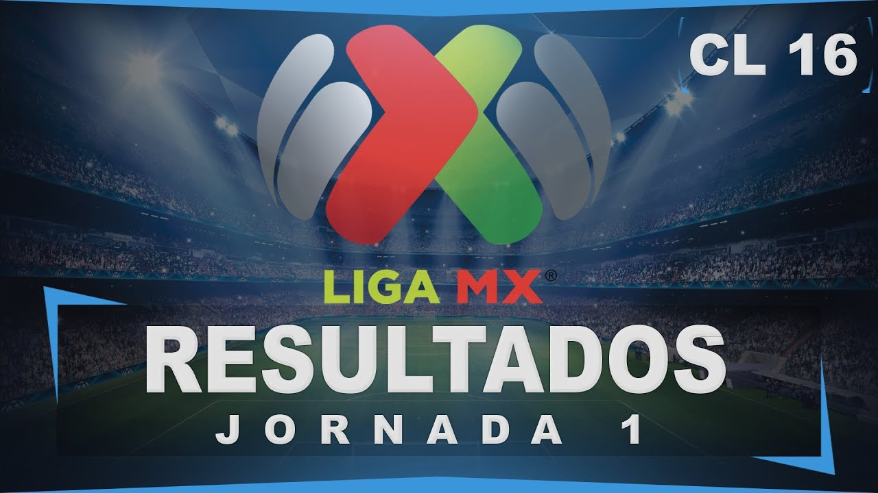 Resultados Jornada 1│Clausura 2016│Tabla General│Liga MX│Esto ...