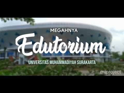 Megahnya Edutorium Universitas Muhammadiyah Surakarta