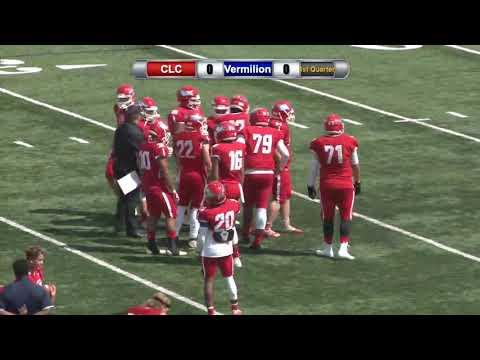 Central Lakes College Football vs. Vermilion Community College 8/31/2019