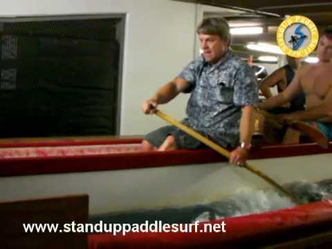 Todd Bradley Teaching Canoe Paddling