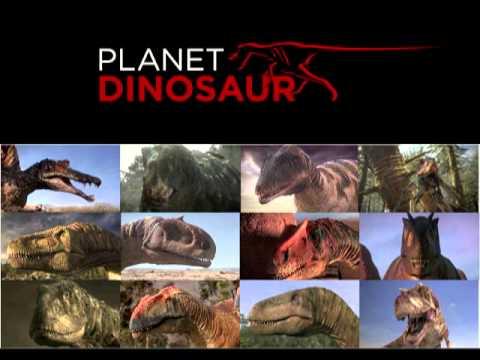 Planet Dinosaur Large Theropod sounds