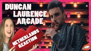 EUROVISION REACTION TO DUNCAN LAURENCE - 'ARCADE' (THE NETHERLANDS 2019)
