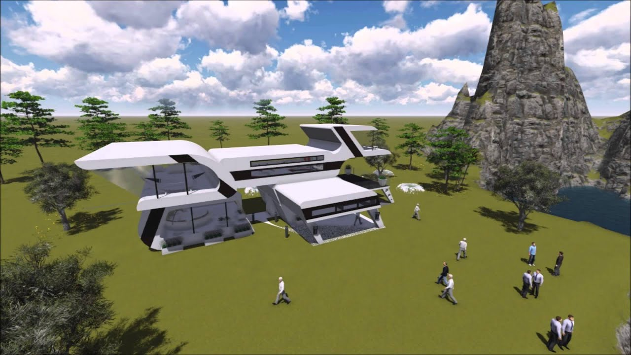 futuristic house - youtube