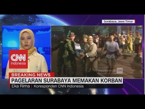 Pagelaran 'Surabaya Membara' Memakan Korban Tertabrak Kereta Mp3