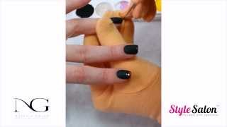 Дизайн гель-лаками на коротких ногтях (Часть 1/4). Матовый эффект. Литье