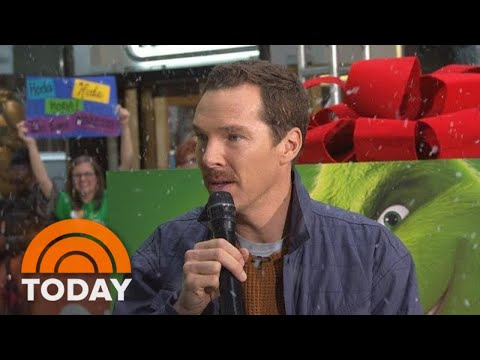Benedict Cumberbatch Talks About Voicing 'The Grinch' | TODAY
